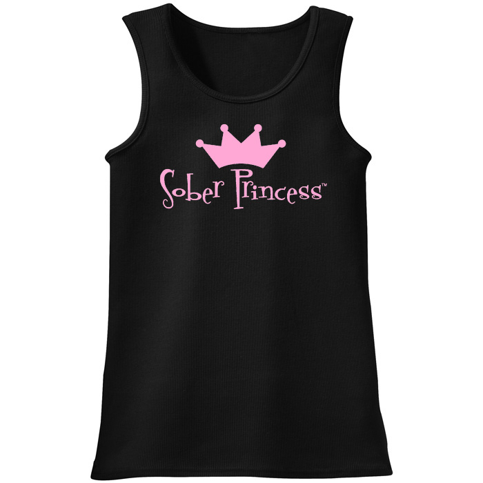 Sober Princess Tank - Black