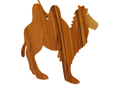 2 Hump Camel Ornament