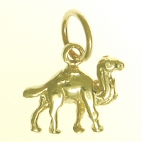 14k Pendant, Adorable Camel