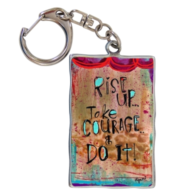 Rise Up Keyring