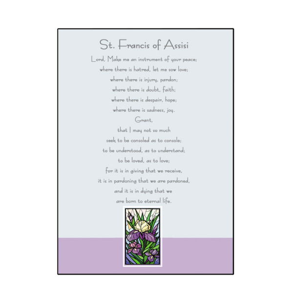 St. Francis of Assisi Card