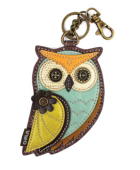 Owl Coin Purse with Key Chain