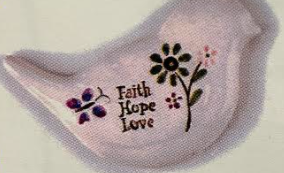 Faith Hope Love Dolamite Magnet