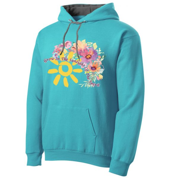 Grow in the Sunlight of the Spirit Hoodie