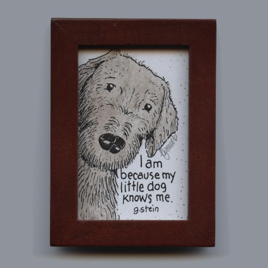 Little Dog Framed Artwork
