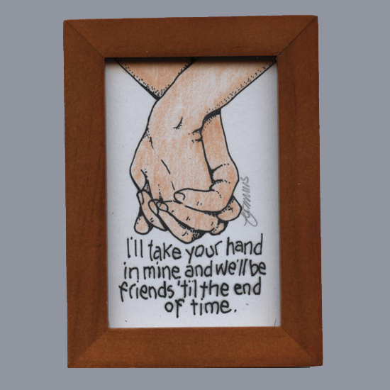 Take My Hand Framed Artwork