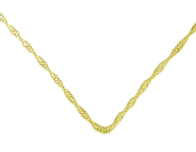 Singapore Chain, 14k Gold