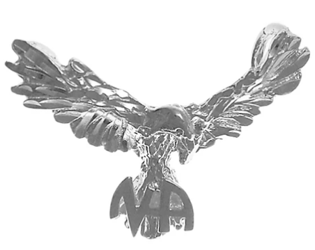 Sterling NA Symbol on the Tail Feathers of an Open Winged Eagle