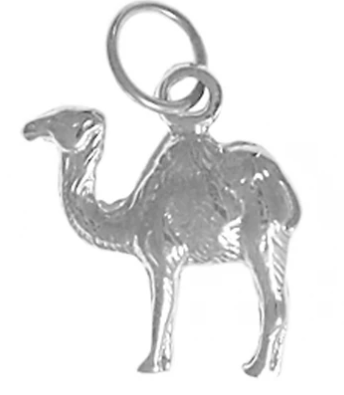Sterling Silver Pendant, Adorable Camel