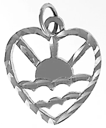 Adult Children of Alcoholics (ACOA) Pendant, Sterling Silver