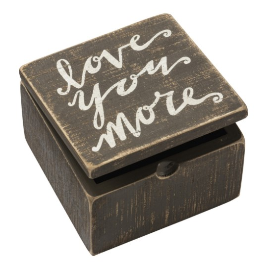 Love You More Hinged Box