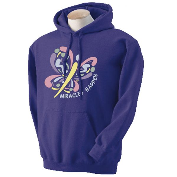 Miracles Happen - PURPLE Hoodie