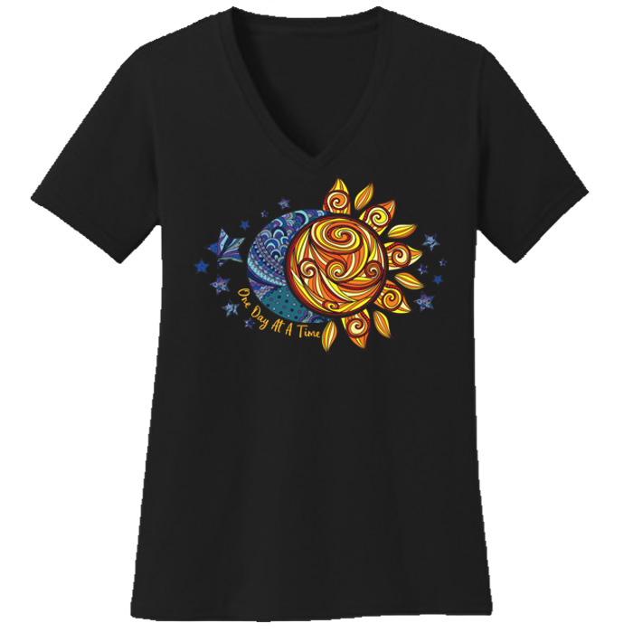 ODAT Sun & Moon Tee (Black)