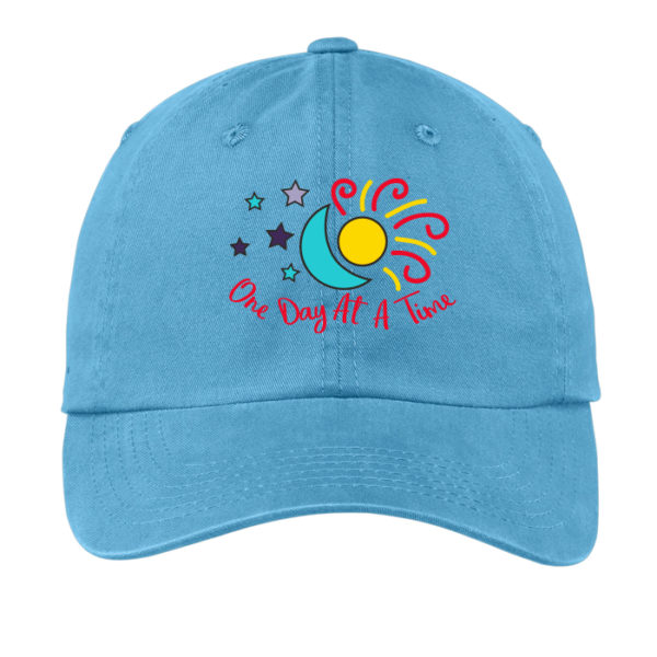 ODAT Sun and Moon Hat - Blue