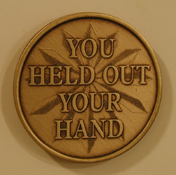 You Held Out Your Hand Bronze Medallion