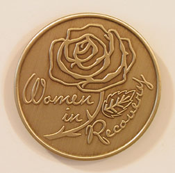Women in Recovery - Rose Bronze Medallion
