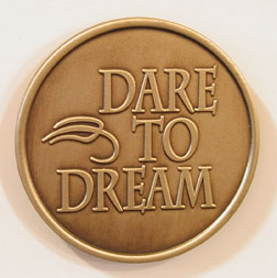 Dare to Dream Bronze Medallion