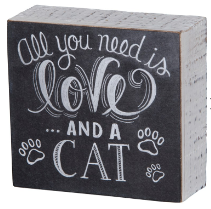 All You Need is Love...And a Cat Box Sign