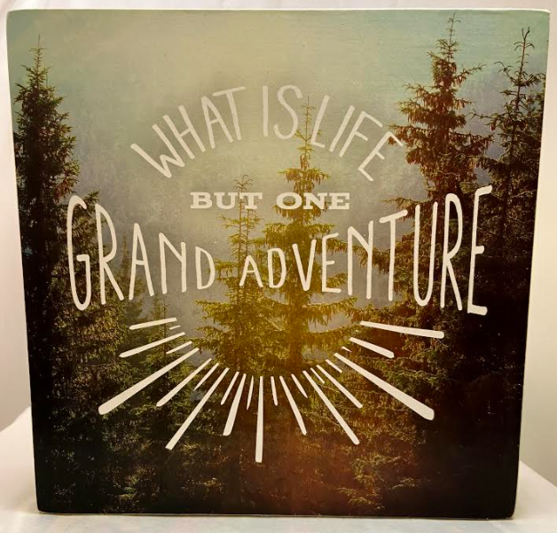 Grand Adventure Box Sign