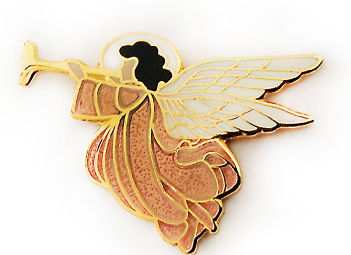 Angel with Trumpet Pin