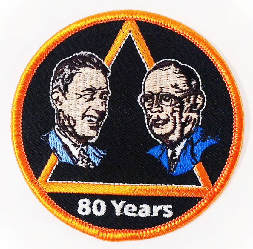 80 Years Bill and Bob Patch