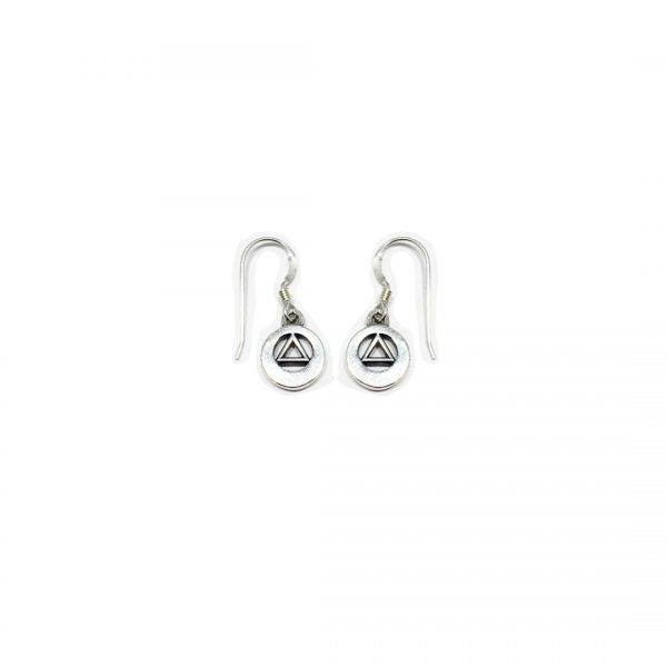 AA Symbol Plain Earrings