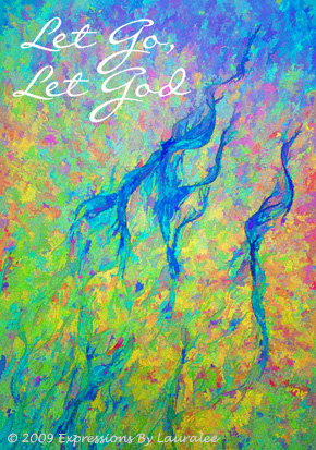 Let Go Let God Card 1
