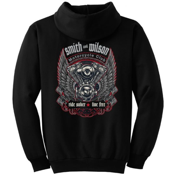 Smith & Wilson Motorcycle Club Hoodie