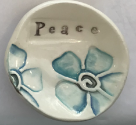 """Peace"" Ceramic Trinket Dish"