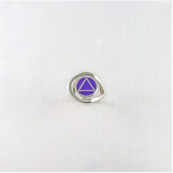 AA Swirl Ring with Fill
