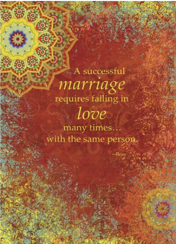 Successful Marriage Card