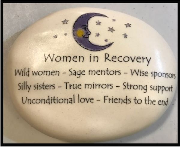 Women in Recovery Moon Rock