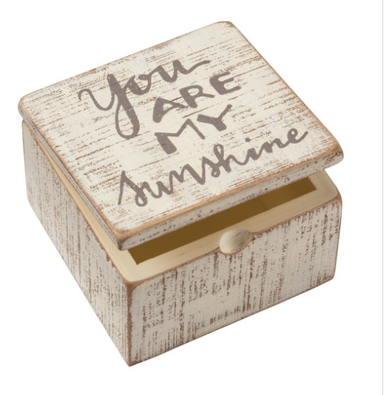 You Are My Sunshine Hinged Box