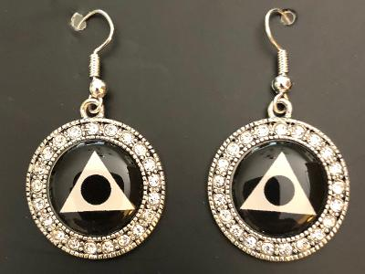 Al-Anon Bling Earrings
