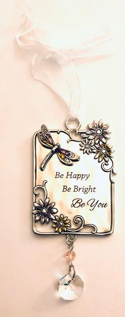 Be Happy, Be Bright, Be You Ornament