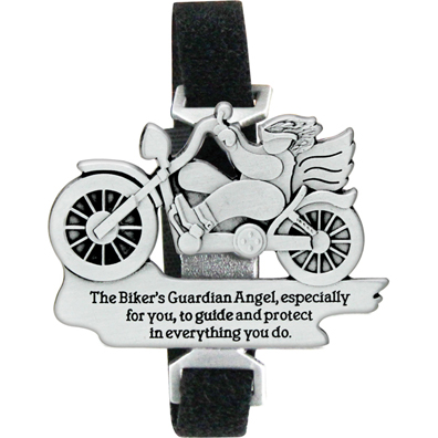 Biker's Guardian Angel Bike Strap with Velcro