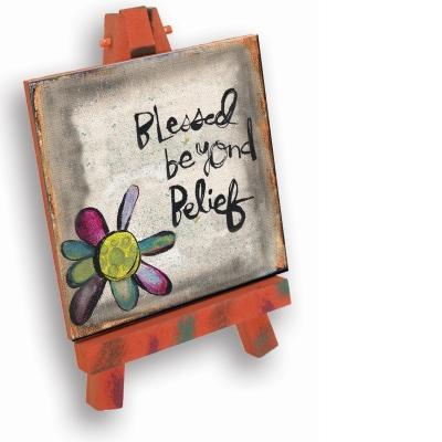 Blessed Plaque with Easel