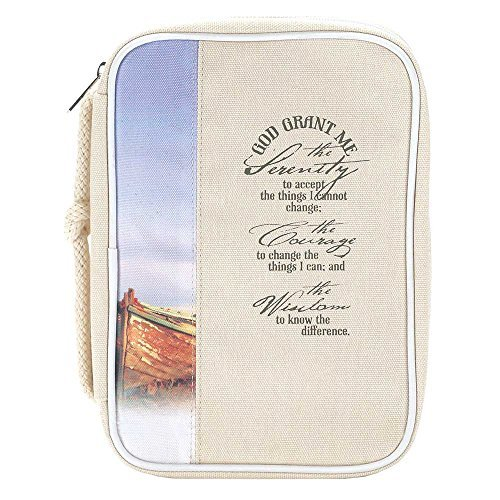Canvas Serenity Prayer Book Cover