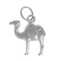 Sterling Silver Pendant, Camel