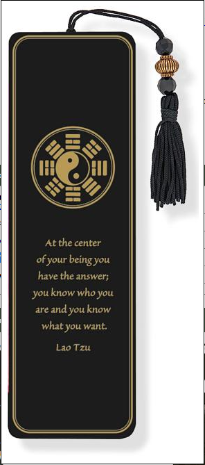 At The Center Bookmark