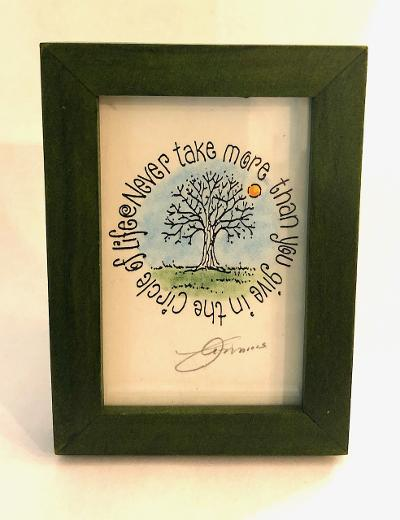 Circle of Life Framed Mini Print