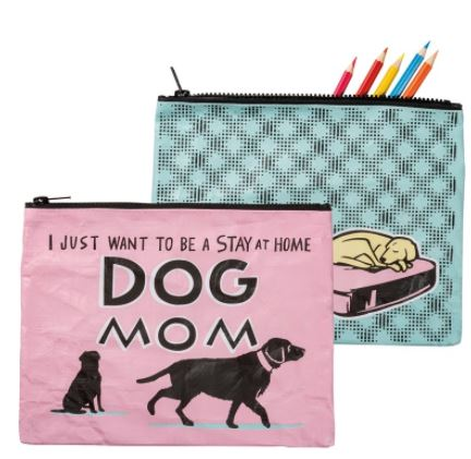 Stay at Home Dog Mom Zipper Pouch