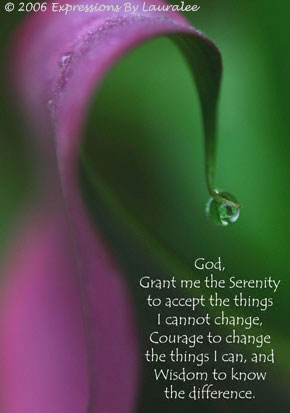 Serenity Prayer Card 4