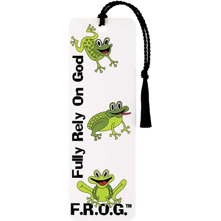 FROG Tassel Bookmark