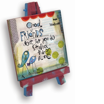 Good Friends Mini Easel