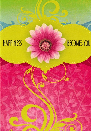 Happiness Becomes You Card