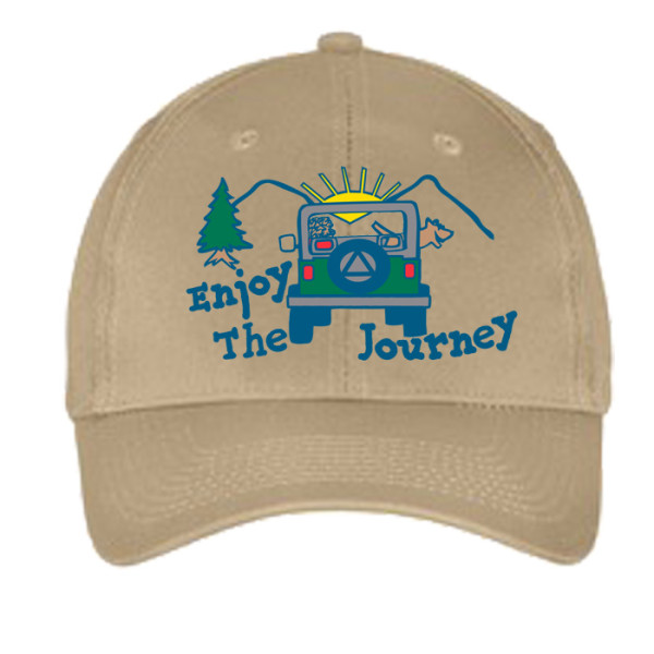 Enjoy the Journey hat - Khaki