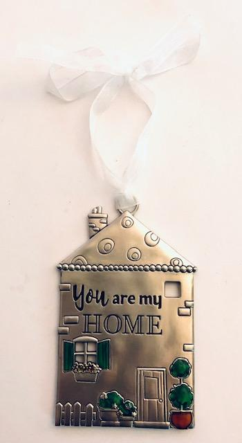 You Are My Home Ornament
