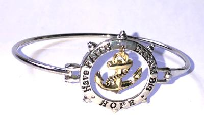 Hope Anchor Bracelet