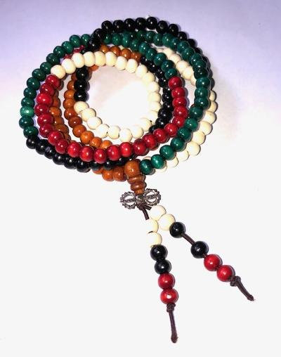 Colorful Mala Bead Bracelet